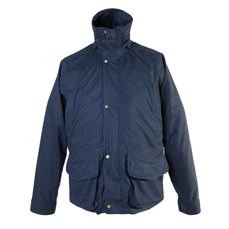 Rain Jacket - Storm ( Navy Blue ) | John Field - online shooting shop