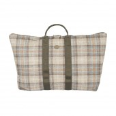 Foldable tweed bag - Heather - Large - Nellie