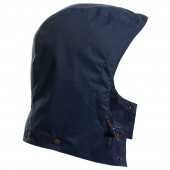 rain hood navy blue twister