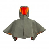 reversible rain shoulder cape drizzle
