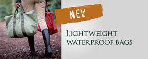 Lightweight waterproof bags